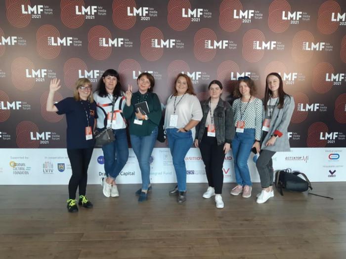 Волинська делегація на LMF