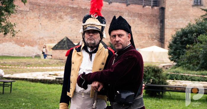 Офіцер Наполеонівської армії та український козак