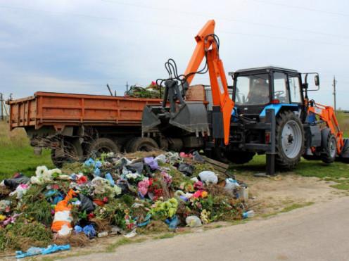 Прибирання Федорівського кладовища