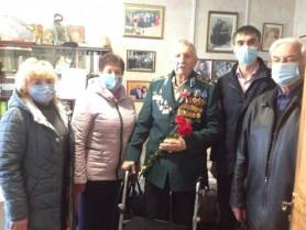 Представники Ковельської районної влади відвідали ветеранів Другої світової війни
