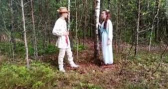 Ролі Мавки та Лукаша зіграли юні актори-ліцеїсти
