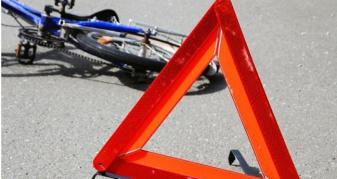 Велосипед і мотоцикл не розминулися