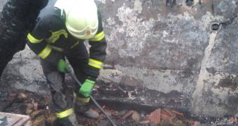 Пожежа на Мукачівщині