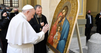 Папа Римський благословив ікону із Закарпаття
