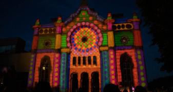Ужгородцям предаставили масштабте 3D-світлове шоу