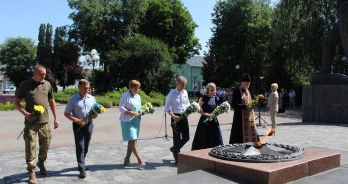 Ковельчани вшанували пам'ять жертв війни в Україні