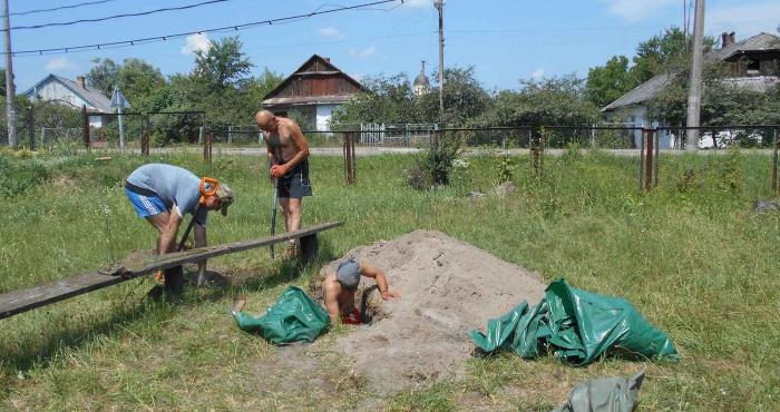 Розкопки на території громади