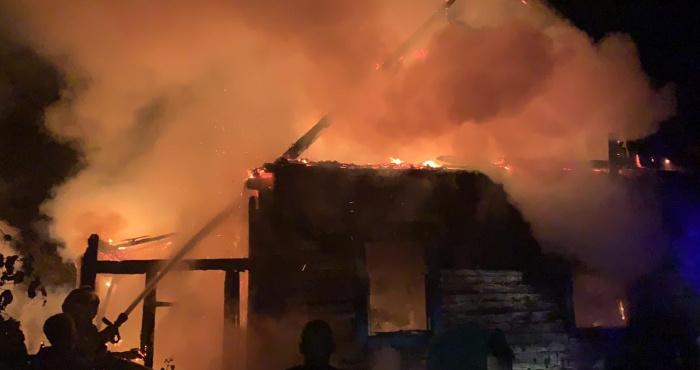 Пожежа у Дроздині