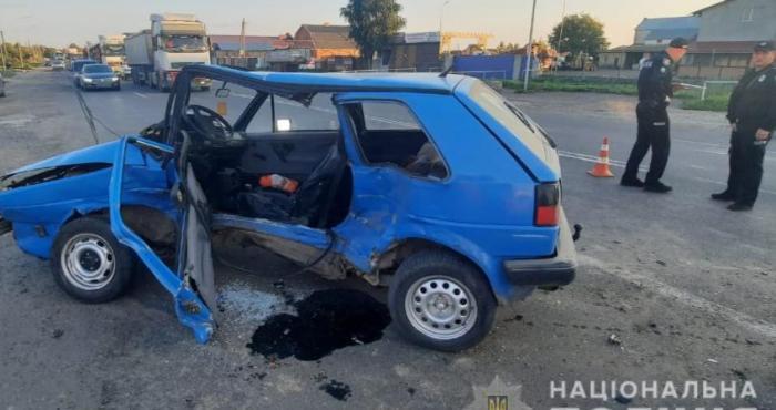 Аварія у Підгайцях