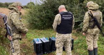 П'ять пакунків контрабандних сигарет знайшли на кордоні з Білоруссю
