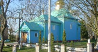 Церква в селі Бережки