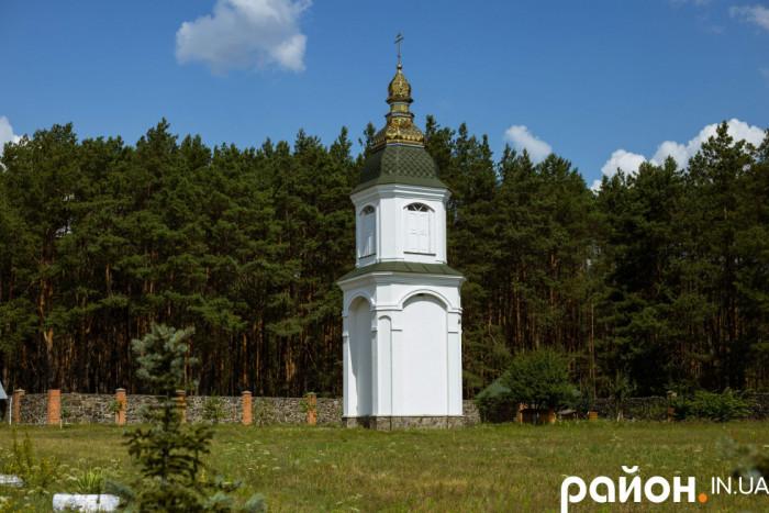 Водонапірна вежа, з якої зробили дзвіницю