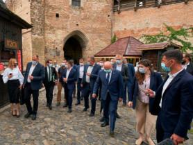 Під час візиту Зеленського у Луцькому замку