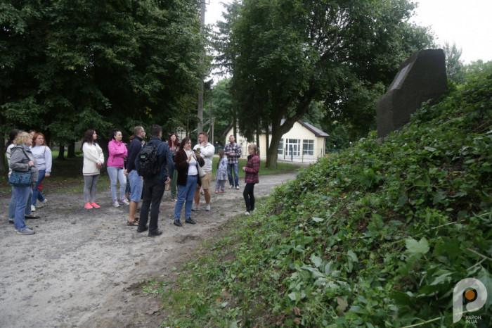 Оглядини колишніх володінь князів Сокульських почалися о десятій ранку із древнього городища XI-XIII століть.