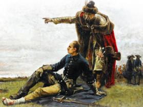 Картина Густава Седерстрьома «Мазепа і Карл ХІІ», 1880 р.