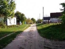 Вуличка в селі Кураш, де мешкав Сергій Верес