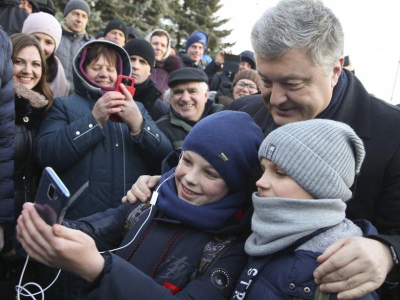Як Петро Порошенко гостював на Волині