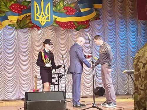 Нагородили волонтера з Любомльського району