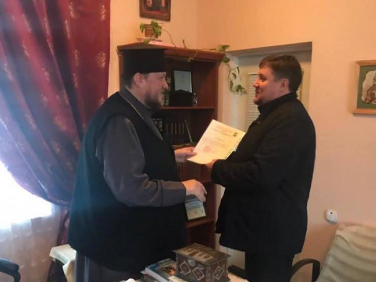 Релігійна громада лікарняного храму на Волині офіційно приєдналася до ПЦУ