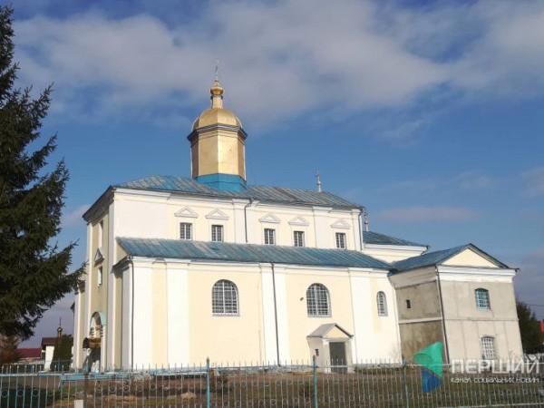 Свято-Миколаївський храм в селі Жидичин