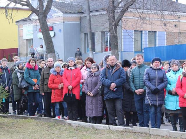 У Горохові помолилися за душі невинно вбитих на Майдані