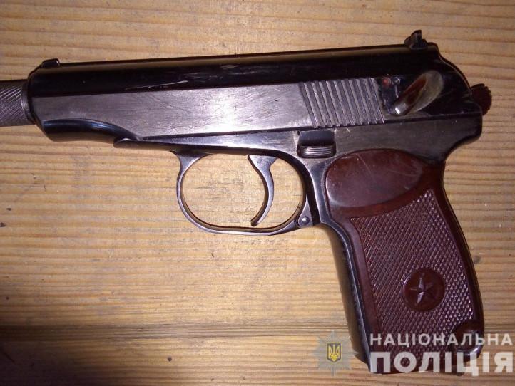 У ківерчанина поліцейські вилучили пістолет та набої