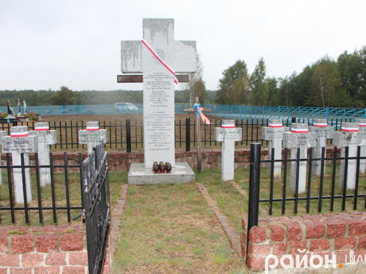 Кладовище в селі Мельники