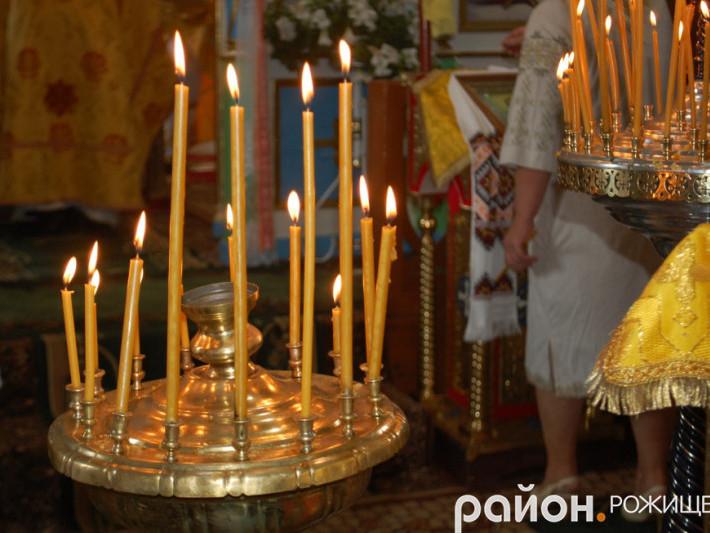 Свічник Петро-Павлівської церкви у селі Вишеньки