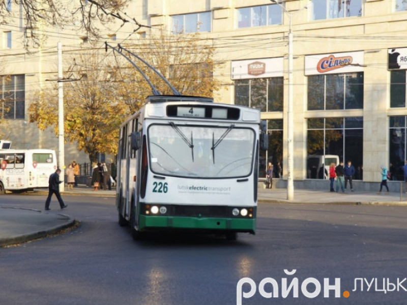Луцьк позичить декілька мільйонів на нові тролейбуси