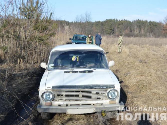На Волині прикордонники затримали чоловіка на краденому авто