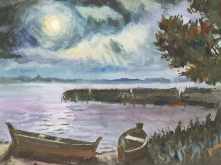 Шацькі озера на картинах волинських художників