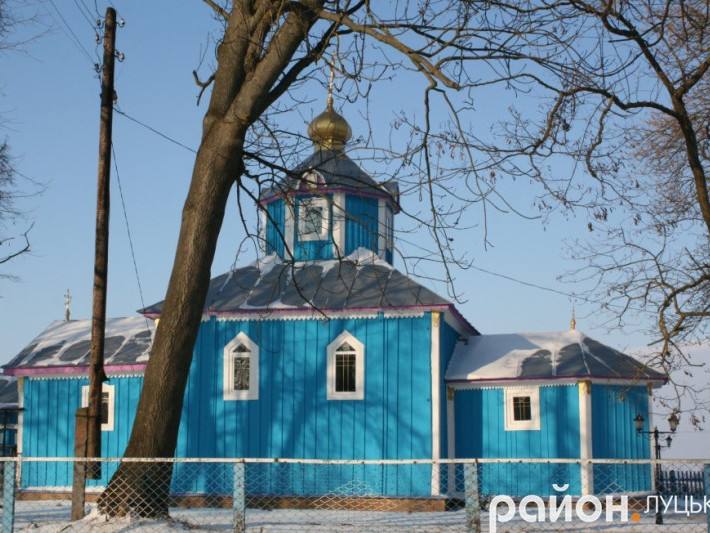 Церква у селі Веселе