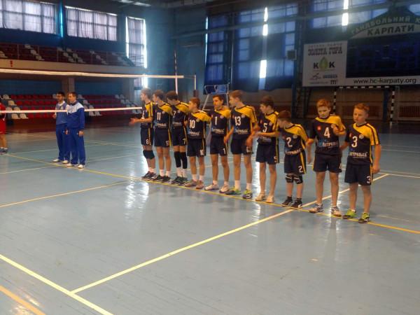 Волейболісти Острозької спортшколи зіграють у фінальному турі Чемпіонату України