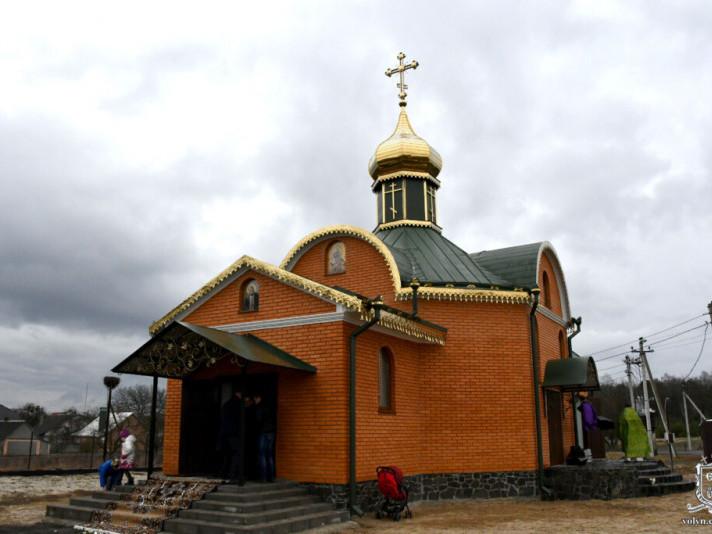 Діброва: освятили нову церкву Московського патріархату