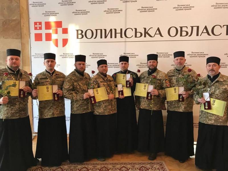 Нагороду отримав Роман Скірак, настоятель парафії Святого Архістратига Михаїласмт Шацьк.