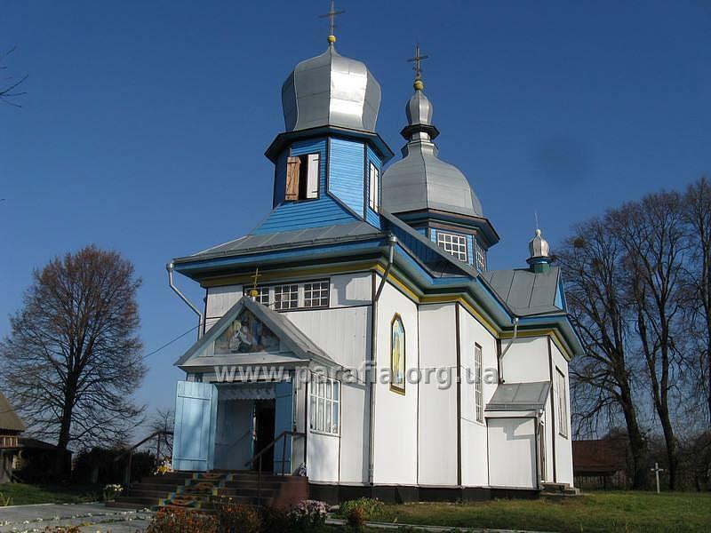 Церква у селі Боровичі Маневицького району