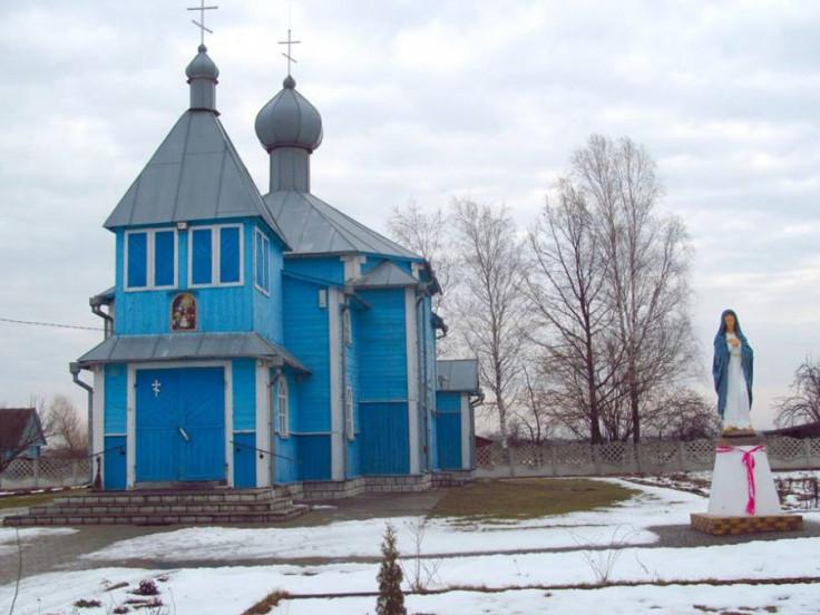 Церква у селі Мизове