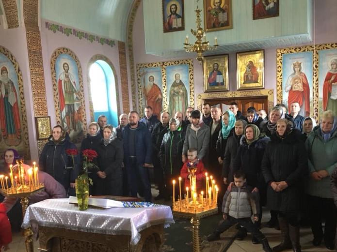 У Свято-Іллінському храмі ПЦУ на Ківерцівщині відбулась перша літургія