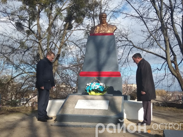 Мітингом і покладанням квітів вшанували Тараса Шевченка.