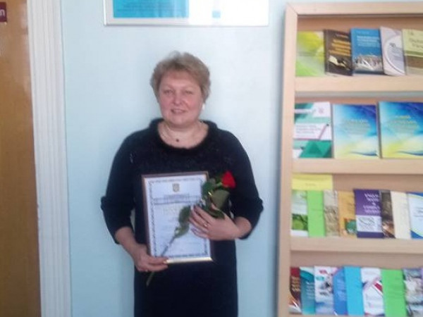 Директорка школи у селі Переспа Ольга Нечипорук