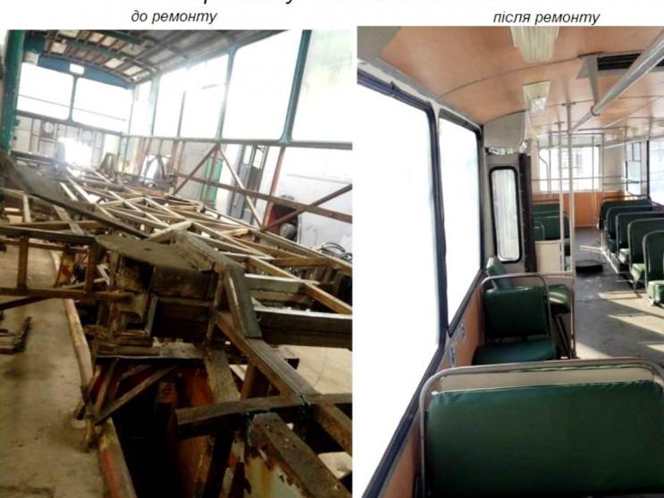 У Луцьку відновлюють старі тролейбуси