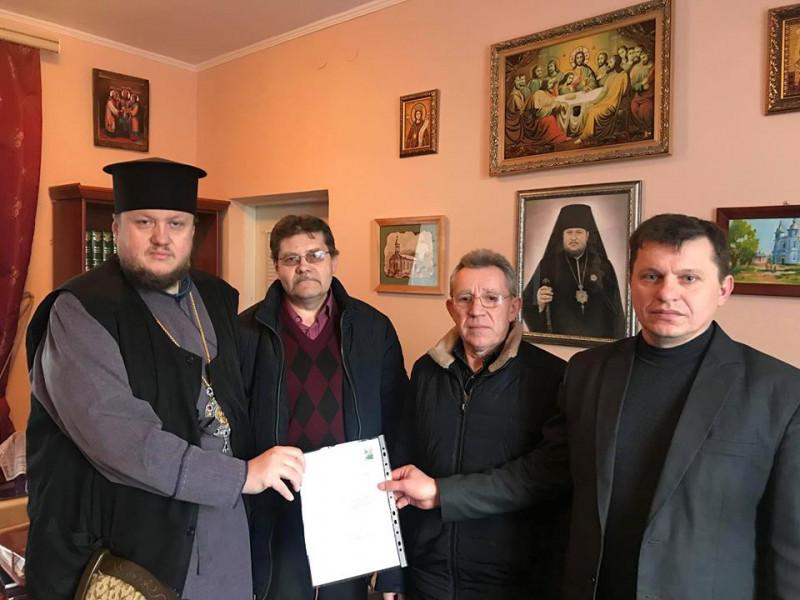 Громаду села Заболотці прийняли у клір Володимир-Волинської єпархії ПЦУ