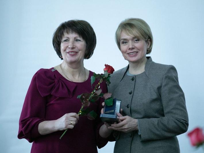 Віра Бобчук з Лілією Гриневич