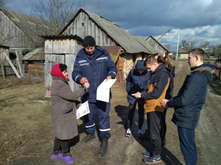 У рейд із рятувальниками вийшли і місцеві школярі