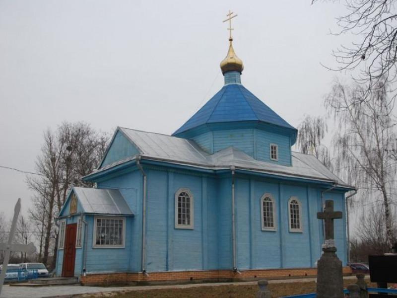 Свято-Михайлівська церква у селі Щурин