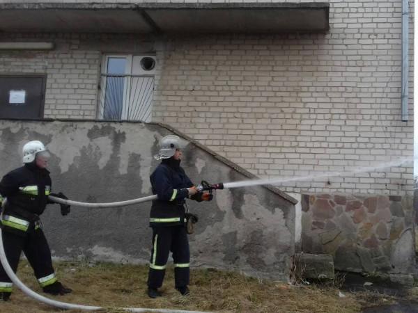 Горохів: у поліклініці гасили «пожежу»