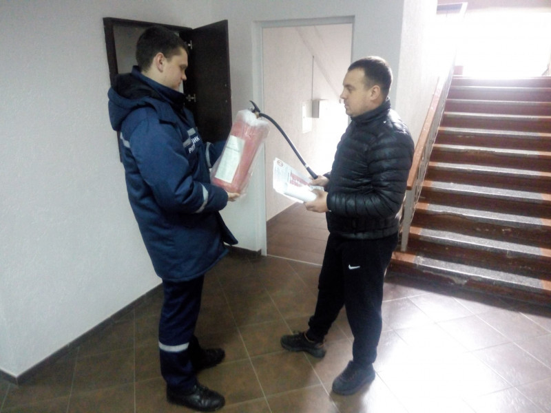 У Горохівському районі рятувальники перевіряють безпеку дільниць