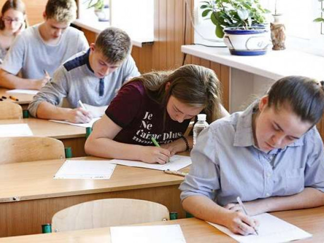Одинадцятикласники шкіл Шацького району склали пробне ЗНО