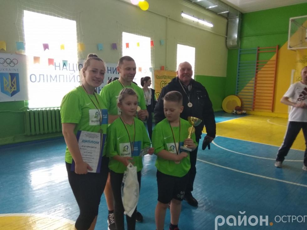 Переможці змагань родина Кучмей/Хровс