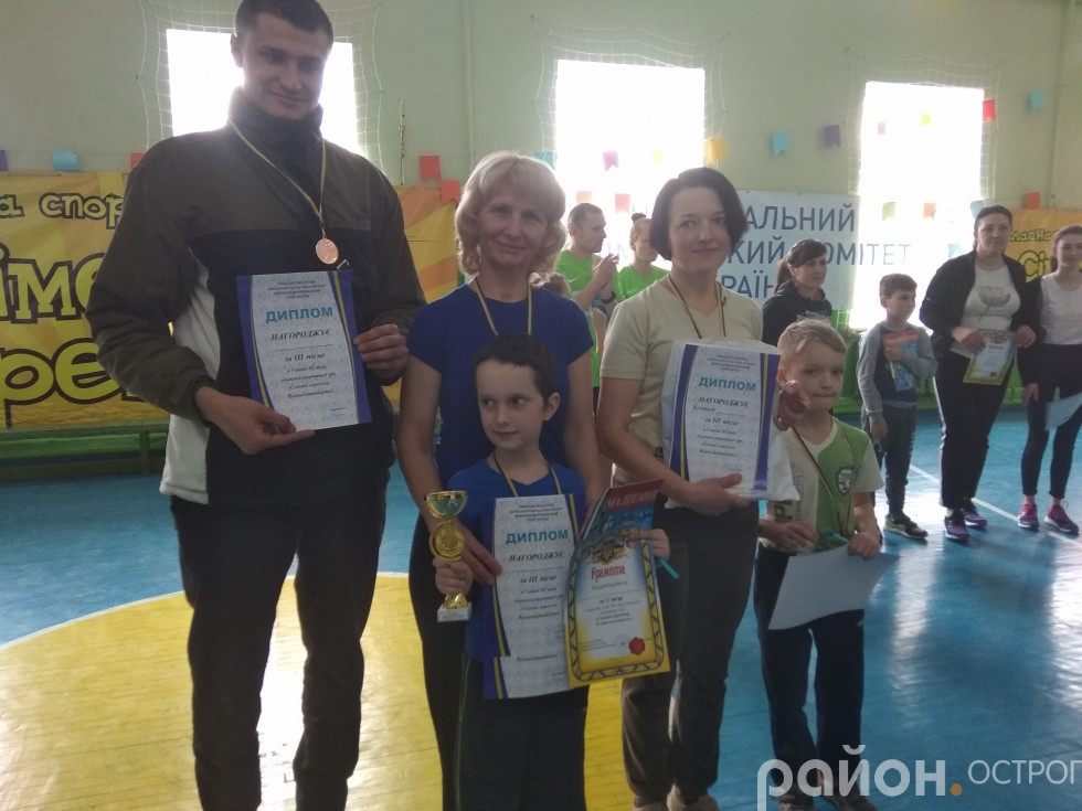 Представники Острога родина Статкевичів/Куликів